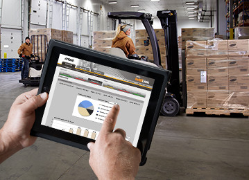 Warehouse Forklift Fleet Management