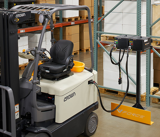 Lithium-Ion battery for forklifts