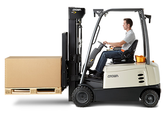 Crown rental forklifts provide reliable performance