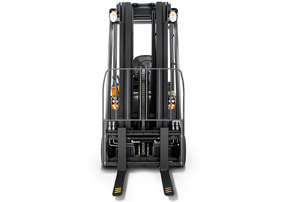 the SC forklift is available with travel light package