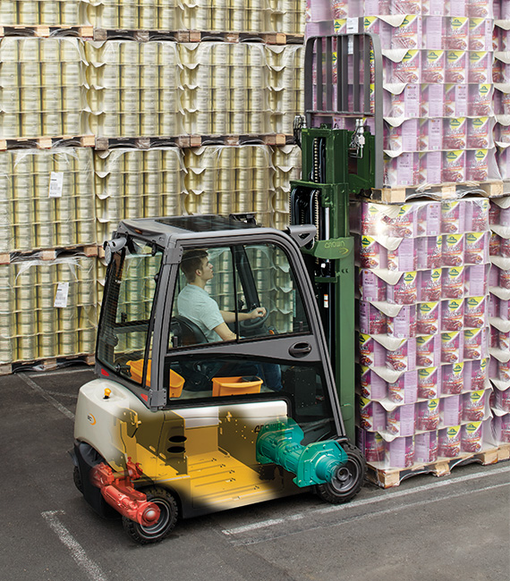SC forklift offers exceptional robustness and reliability