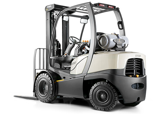 gas forklift with super-elastic tyres C-5 1050
