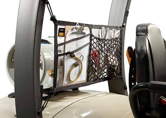 for the C-5 gas forklift a range of Work Assist accessories are available