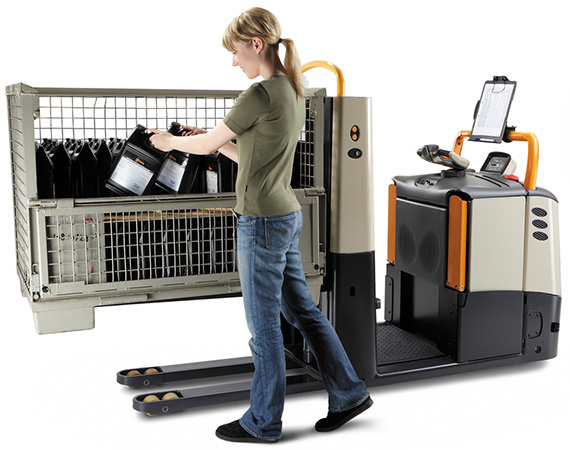 the GPC order picker provides maximum picking efficiency