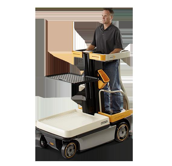 Assist Lift Attachments : Order picker wave work assist vehicle crown lift trucks