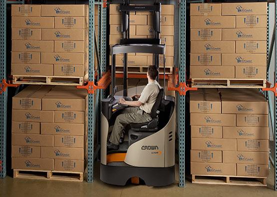 Reach Truck Esr Series Crown Equipment Corporation