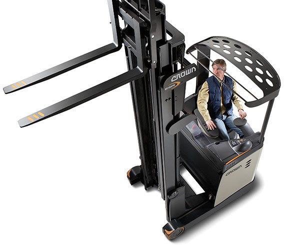 the ESR reach truck offers maximum performance and safety