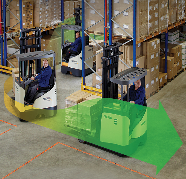 the ESR reach truck delivers safe, efficient performance