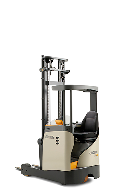 reach truck with narrow chassis ESR 1020