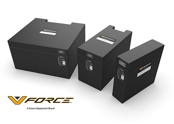 ES stackers can be equipped with lithium-ion batteries