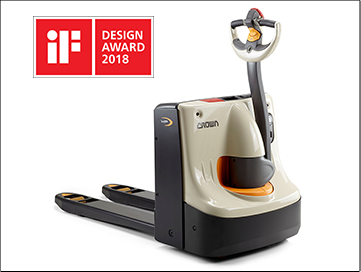 Pallet truck WP 3010 wins iF Design Award 2018