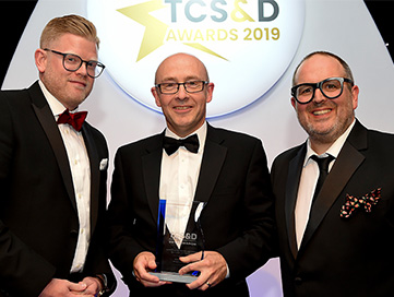Crown Lift Trucks wins TCS&D Award 2019