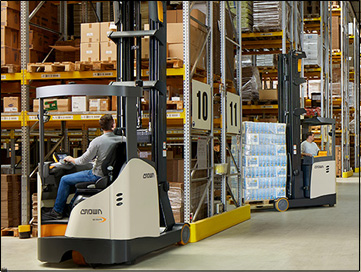 reach truck ESR 1000 - market launch
