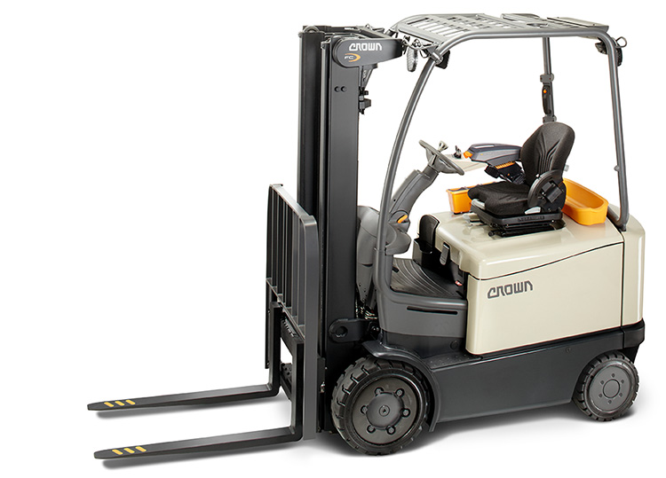 gas forklift C-5 from Crown