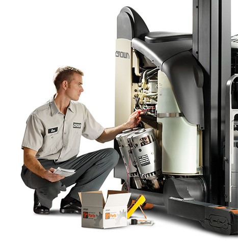 Crown forklift maintenance