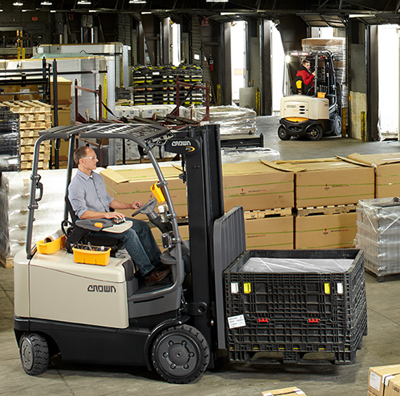 Rental forklifts for every application