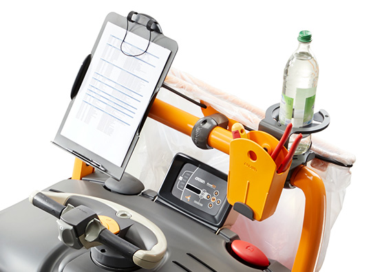Crown forklifts are available with a variety of Work Assist Accessories