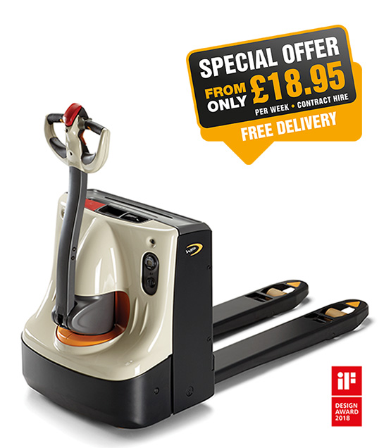 pallet truck hire WP 3010 special offer in Scotland