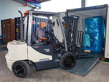GX Series Liquid Petroleum Gas IC Forklift