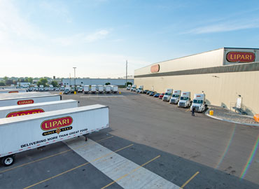 Lipari Foods testimonial on Crown Lift Trucks