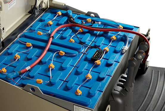 v-force motive power battery watering system
