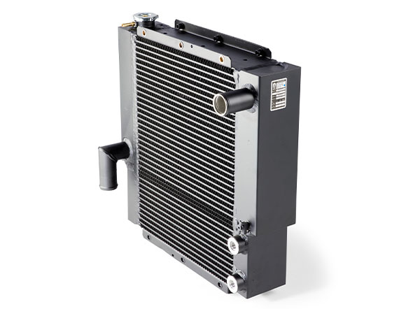 Dual core radiator on the C5 series IC forklift
