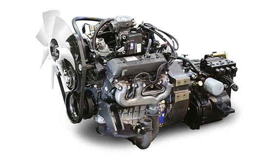 C-G Series 4.3 Liter V6 LPG engine