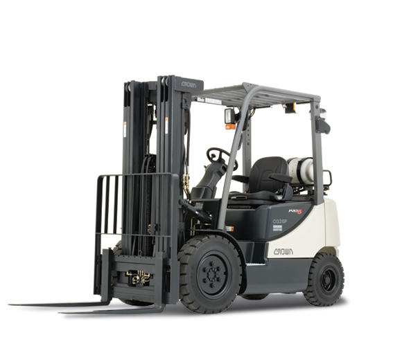 Rent buy or lease a Crown LPG forklift