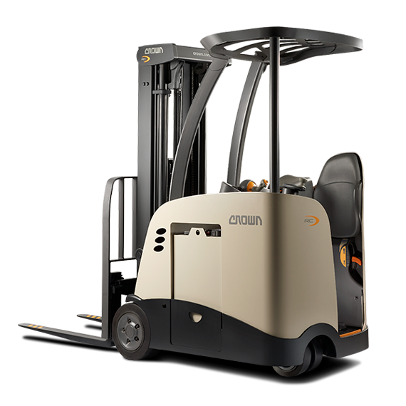 Crown's RC 5500 Series stand-up forklift