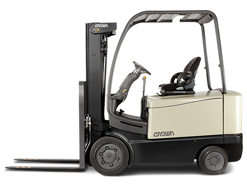 4-Wheel Counterbalance Forklift