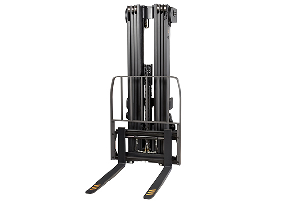 for the RC stand-up forklift a quad mast is available