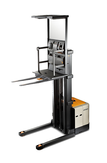 4-Wheel Straddle - Order Picker