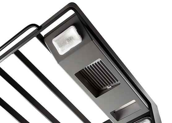 the fan light package provides auxiliary lighting and improves
