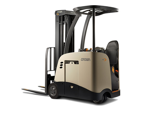 RC Series 3-Wheel Stand-Up Electric Counterbalance Forklift