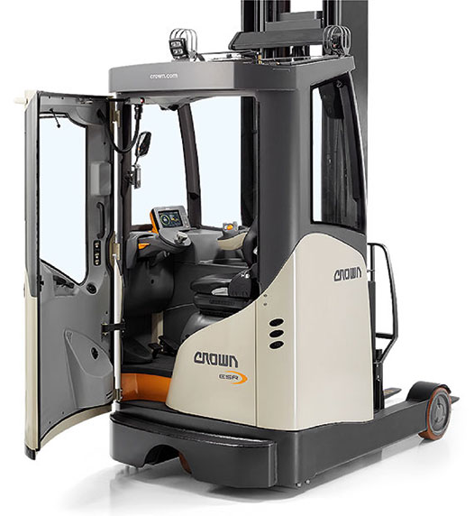 ESR Series reach forklift excels in extreme environments