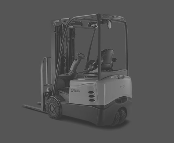 SC Series 3 and 4-Wheel Sit-Down Electric Counterbalance Forklift