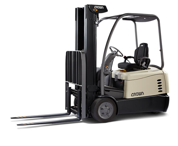 SC Series 3-Wheel and 4-Wheel Sit-Down Electric Counterbalance Forklifts