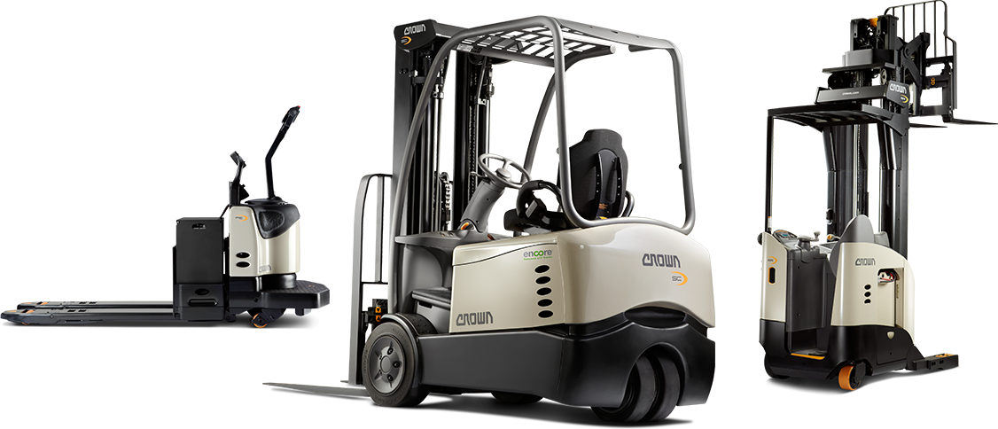 remanufactured crown forklifts