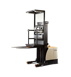 Man-up Order Picker Lift Trucks for Rent