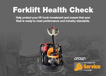 Crown Forklift Health Check Promotion