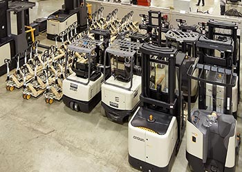 Crown Thailand Pre-Owned Forklift Sale