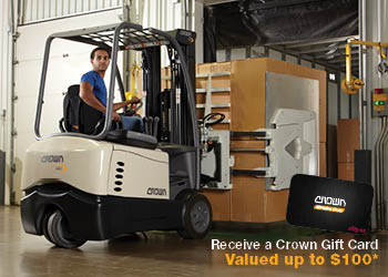 Crown New Zealand Lift Truck Demo Challenge