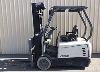 Crown Catch of The Month Forklift Promotion