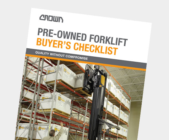 Crown used forklift inventory