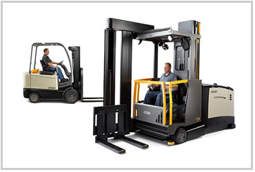 LO and LF forklift operator training