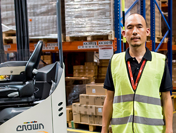XPO customer testimonial on Crown Lift Trucks