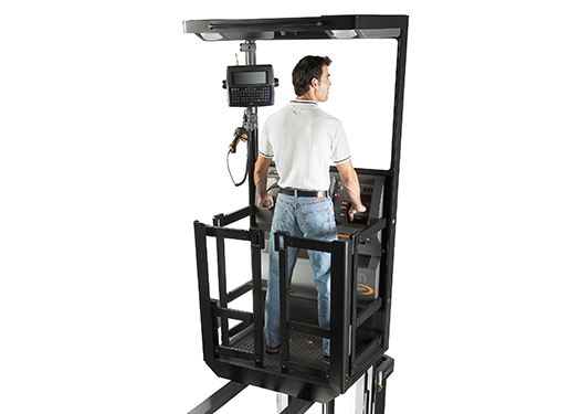 Crown forklift trucks offer built-in safety features