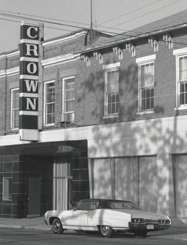 Historical photo of one of Crown's first buildings in New bremen, Ohio